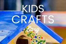 KIDS: DIYS and CRAFTS / Looking for ways to keep the kids busy and entertained. Get inspired with these Fun and easy kid's diy, crafts, learning activities for all ages and Healthy kid-friendly recipes that the whole family will Love.