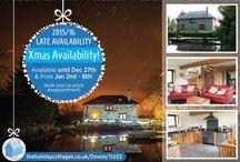 December 2015 Christmas Availability / Self catering properties as seen on our website www.theholidaycottages.co.uk that have dates available during Christmas 2015.