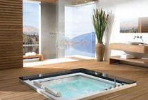 Salle de bain / Salle de bain moderne et Zen. Douche à l'italienne et décoration