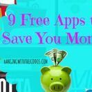 Free Apps to Save You Money