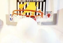 Basketball Party / Basketball theme party, printable, decor, favor, food,cake