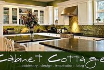 cabinetry & design inspiration / Inspiration for cabinetry clients.   Visit us at www.cabinetcottage.com