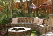 Outdoor Living Space / porches, decks, gardens, yards, ponds, pools