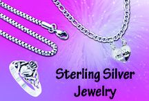 Sterling Silver Jewelry / High quality .925 sterling silver jewelry. You will find the latest trends in Rings, Earrings, Bracelets, Necklaces and Pendants made with crystal, cubic zirconia and Gemstones at low price + Fast Shipping.