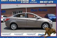 Our Hyundai Selection / See all the great Hyundai models you can get at Gary Rome Hyundai. Whether you're shopping or doing research for your next vehicle, we carry all makes and models for your convenience. At Gary Rome Hyundai, We Treat You Like Family.
