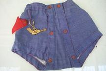 Historical Cloth Diapers / Photos, advertisements, products, paintings, words relating to cloth diaper history.