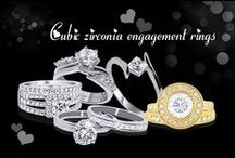 cubic zirconia engagement rings / cubic zirconia engagement rings are perfect for stylish women, smart shoppers and those looking for a humane alternative to blood diamonds