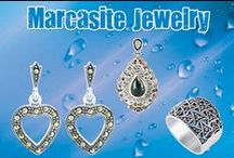 sterling silver marcasite jewelry / sterling silver marcasite jewelry for women at low discount prices