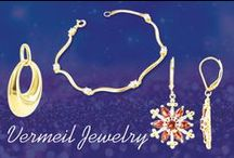 Vermeil Jewelry on Gem Avenue / For jewelry to be considered vermeil it must be made out of sterling silver and then plated with gold.  Vermeil jewellery is a great alternative to your standard silver jewelry because you get the value of silver while looking as if you are wearing gold.  Vermeil jewelry is distinct from other gold plated jewelry in that to be considered vermeil its base metal must be silver.  Gold plated jewelry in general has no standard metal to be used below the gold layer making it a cheap substitute.