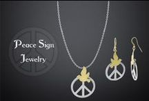 Peace Sign Jewelry / peace sign jewelry for men women and kids