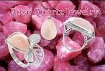rose quartz jewelry / rose quartz and pink quartz jewelry on gem avenue