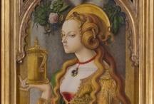 María Magdalena / Iconografía cristiana