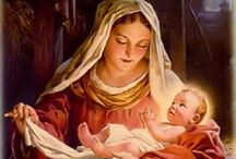 Xmas | Nativity Artwork / Beautiful depictions of the Birth of Christ