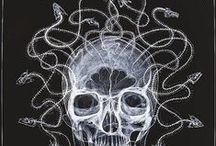 Medusa Gorgona / Mitología clásica hasta hoy