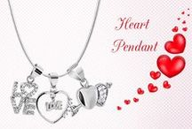 Heart Pendant Jewelry / Heart Pendant Jewelry a unique way to express your love !