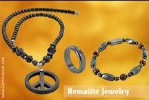 Hematite Jewelry / Hematite Magnetic Jewelry Collections