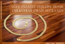 Sterling Silver Curb/Cuban Chain Necklace