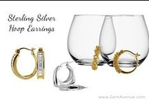 Hoop Earrings / Hoop Earrings are a very simple form that goes well in nearly any occasion; with our lovely collection of sterling silver hoop earrings you will find some unique twists on the old hoop style. We also have some lovely gold hoop earrings and a few very nice options for diamond hoop earrings in our collection we have those in both options of yellow gold and white gold hoop earrings. vist our web site www.gemavenue.com