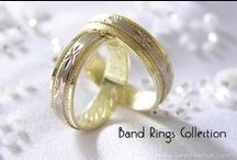 gem avenue.com Band Rings Collection