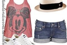 Disneyland Outfit Ideas / Get some ideas for outfits for you Disneyland trip. From California Travel Expert and author of two books about Disneyland, Betsy Malloy at gocalifornia.about.com
