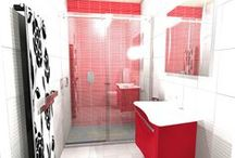 Bathroom Design Ideas / A selection of bathrooms created using our virtual design software.