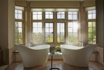 Stunning Hotel Bathrooms / Take bathroom design inspiration from this selection of stunning hotel bathrooms.