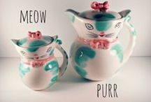 Tea Pots_Cats / More tea pots But made even better with cats