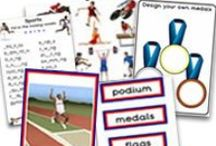 Sport themed teaching resources / Sporting events, sport and exercise related teaching resources.