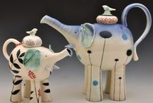 Tea Pots_Elephants