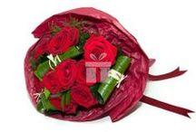 Buchete de Flori - Flori de lux / Buchetele de trandafiri sunt livrate in parteneriat cu Flori de lux, cea mai indragita retea de florarii din Romania
