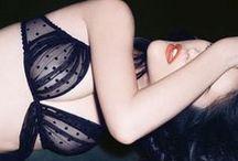 Underwear / #underwear #sousvêtement #dentelle #sexy #sensualité #vintage #légereté #transparence #noir #blanc