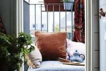 Balcony / Size doesn't matter when it comes to interior creativity. A balcony is a space where we experience air and sun. Where we can feel free and enjoy life.