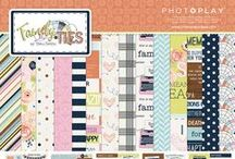 Family Ties collection / Family Ties scrapbook paper collection by Michelle Coleman for Photo Play Paper