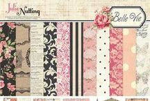 Belle Vie by Julie Nutting / The Belle Vie collection of scrapbook and craft papers from Photo Play Paper, designed by Julie Nutting.
