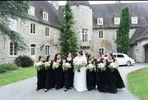 Black Wedding / Black is a unusual color for a wedding,but you can make it so elegant if you just try!