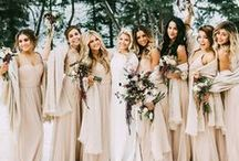 Braidsmaids / The amazing friend that are going to be with you for your wedding,will also need a beautiful dress that maches your wedding theme. Find the perfect style and color here.