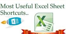 Most Useful Excel Sheet Shortcuts / Excel Keyboard Shortcuts – Microsoft Excel keyboard shortcuts for PC and Mac. Shortcuts of File, Ribbon, Formatting, Number Formatting, Borders, Formulas, Drag and Drop, Active Cell, General, Navigation, Extend Selection, Select Special, General Continued, Selection, Cell Edit Mode, Entering data, , Grid Operations, Pivot Tables, Dialog Boxes, Workbook and Others. Daily use Excel short-cuts (One stop solution)