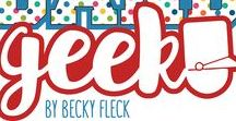 Band Geek by Becky Fleck / For all the chin-strap-loving, roll-step-marching, sunrise-practicing band kids in your life, celebrate their musical youth with Band Geek! From chipped reeds and drumsticks to woodwinds and brass, every cool orch dork deserves a page in the family scrapbook.