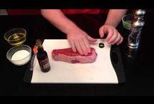 Steak Recipes / Grass Fed Steak Recipes from our farm   www.clovermeadowsbeef.com #STL #grassfedbeef #MOgrassfedbeef