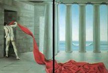 """Impronte d'artista / Vanda Dimattia, vive e lavora a Padova. Opera attivamente nel campo della pittura dal 1974. Ha partecipato ad importanti rassegne, ottenendo numerosi premi e segnalazioni. ...la pittura di Vanda Dimattia  trae i motivi ispiratori soltanto dal reale. Una realtà, colta nei suoi aspetti più reconditi e sfuggenti, che non si appaga delle immagini piatte e insignificanti, anche se piacevoli all'occhio, del """"vero reale"""", ma di esso ne scruta i risvolti inquietanti, i codici segreti (Giuseppe Mesirca)."""