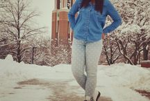 CollegeFashionista Columns❤ / Columns from my college fashionista page    http://www.collegefashionista.com/school/ball_state_university/ / by Nyla Fuller