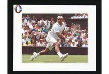 #Collectabillia Roger Federer / Personally signed memorabilia by Fedex