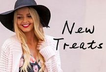 N E W / Shop the latest arrivals at WWW.STELLY.COM.AU with FREE express shipping for AUS orders over $40 and $15 express shipping to NZ, US, CAN & ASIA. / by Stelly Clothing