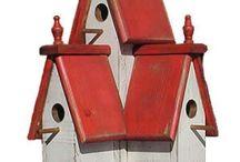 VOGELKOOITJES/birdcages / Vogelhuisje, kooitjes, rennen / by Marie-Andree van Iersel