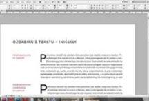 InDesign / Przedstawia autorskie tutoriale i inne ciekawostki z InDesigna.