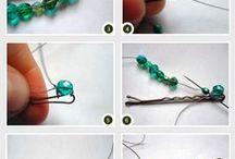 DIY de Pedrarias - Faça Você mesmo / Tutoriais sobre pedrarias, miçangas, costura