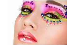 Carnaval / Máscaras, maquiagem decorativa,  fantasias de Carnaval customizadas com cristais, strass e pedrarias. www.beadshop.com.br