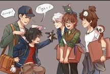 Feels / Extreme feels  T-T  Mostly from Big Hero 6 & Harry Potter