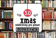 X-Mas 3.0 -- Das Bücherregal / Kochbücher von Teilnehmern, Partnern und befreundeten Bloggern