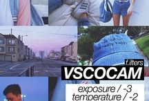 VSCO filters / Filters ideas✨